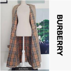 BURBERRY FULL LENGTH CHELSEA TRENCH COAT